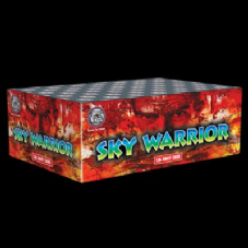 Sky Warrior 136 Shot Cake